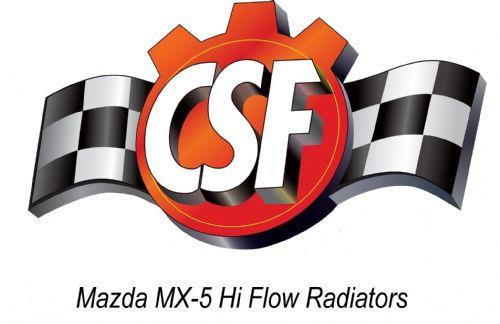Mazda MX5 ND CSF High Flow Radiators 2.0 & 1.5 (2016-20) Road or Race